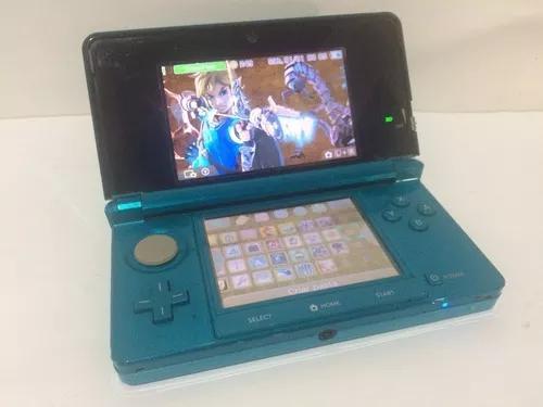 Nintendo 3ds desbl. nitendo. cores diversas_2ds xl ll sd