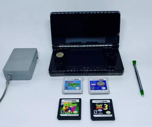 Nintendo 3ds + jogos + acessórios.