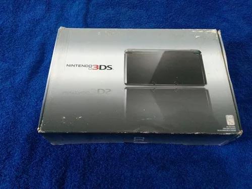 Nintendo 3ds na caixa com manuais + zela ocarina of time