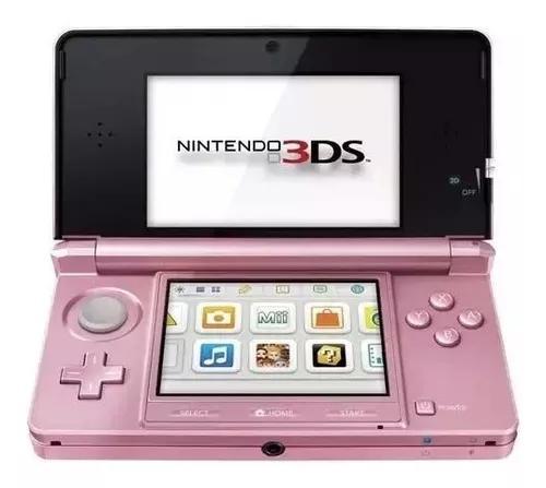Nintendo 3ds rosa