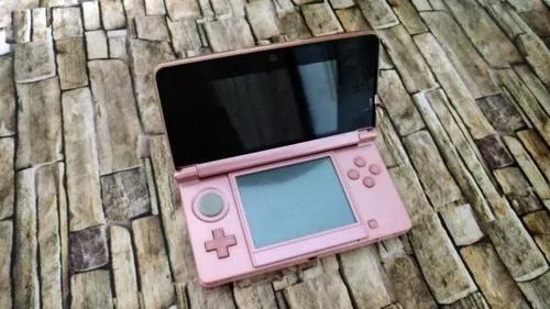 Nintendo 3ds rosa limited edition