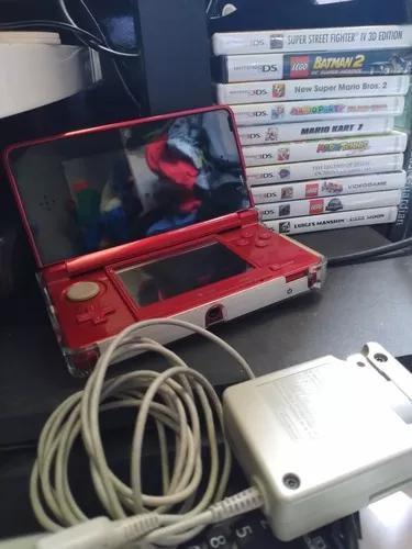 Nintendo 3ds usado + 10 jogos