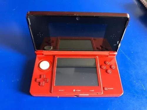 Nintendo 3ds Vermelho + 3 Jogos Originais