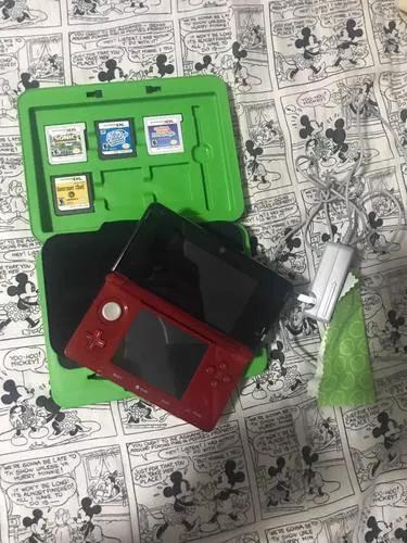 Nintendo 3ds vermelho s