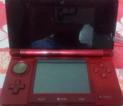 Nintendo 3ds (vermelho) usado + 2 jogos