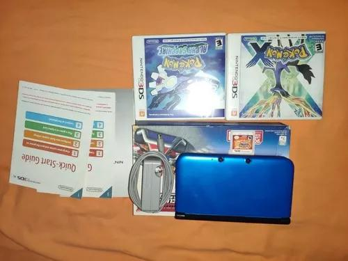 Nintendo 3ds xl + 3 jogos