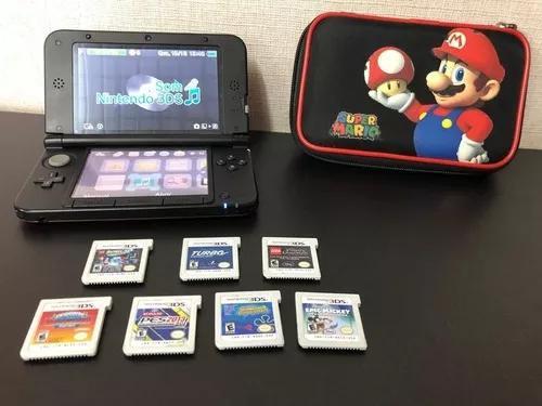 Nintendo 3ds xl + 7 jogos