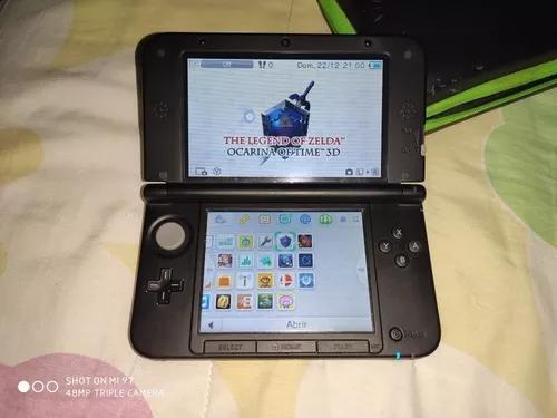 Nintendo 3ds xl black desbloqueado