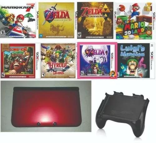 Nintendo 3ds xl com jogos