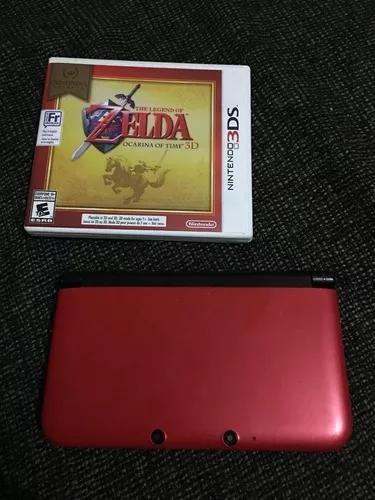Nintendo 3ds xl com zelda ocarina of time