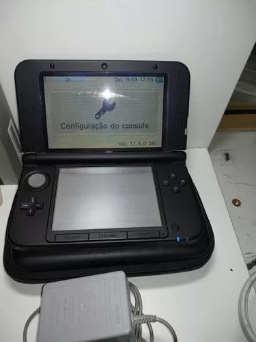 Nintendo 3ds xl completo envio para todo o brasil