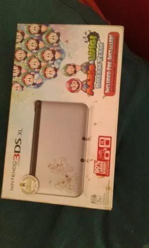 Nintendo 3ds xl destravado versão mário e luigi