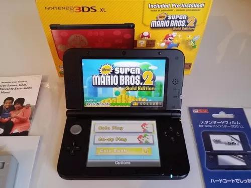Nintendo 3ds xl edição limitada mario