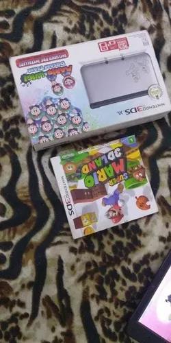 Nintendo 3ds xl edição mario e luigi desbloqueado cartão