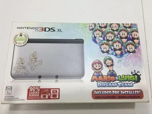 Nintendo 3ds xl mario & luigi dream team - frete grátis