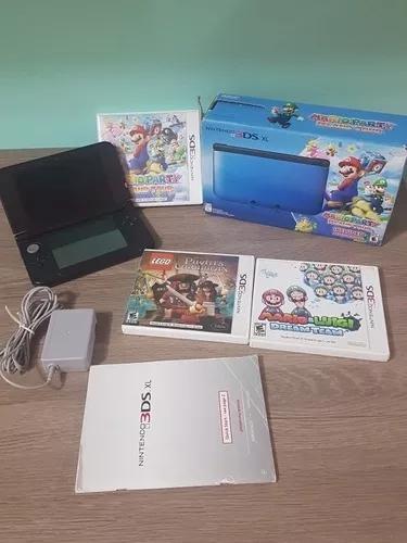 Nintendo 3ds xl mario party island tour + 2 jogos