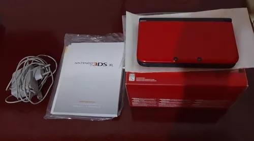Nintendo 3ds xl original usado acompanhado de 6 jogos