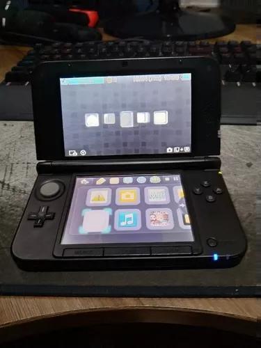 Nintendo 3ds xl preto + 1 jogo