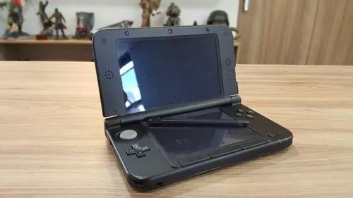 Nintendo 3ds xl preto- original + cartão 4gb