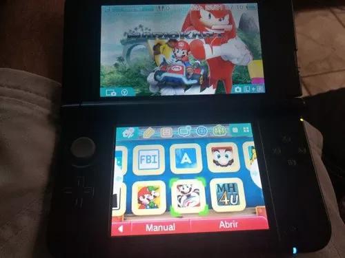 Nintendo 3ds xl versão mario bros desbloqueado com jogos