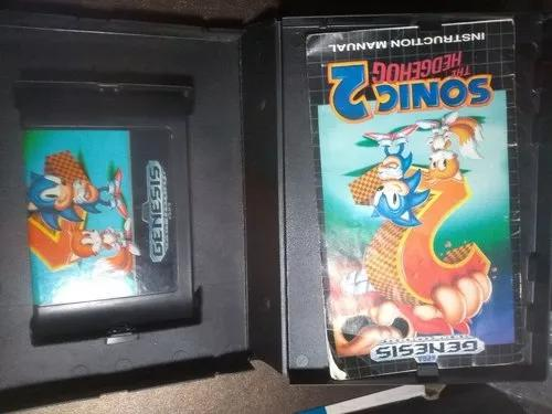 Sonic 2 completo - mega drive
