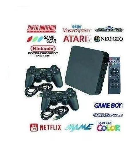 Video game retro seleção com 7000 jogos game box só top