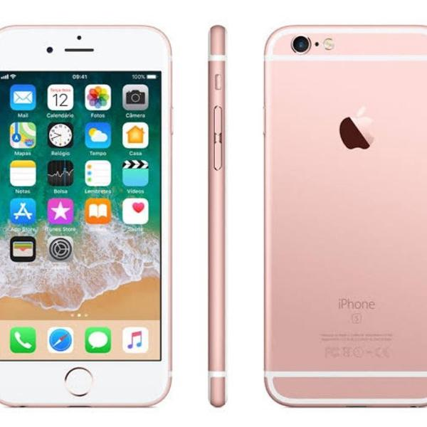 Celular iphone 6s 128 gb rose gold