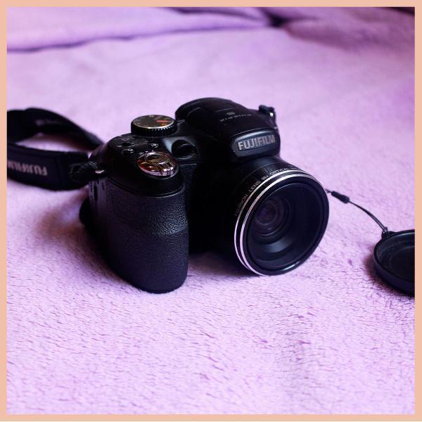 Câmera fotográfica semiprofissional fujifilm finepix s2950