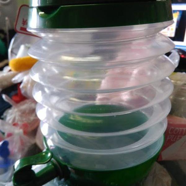 Galão de água sanfonado 3,5lts