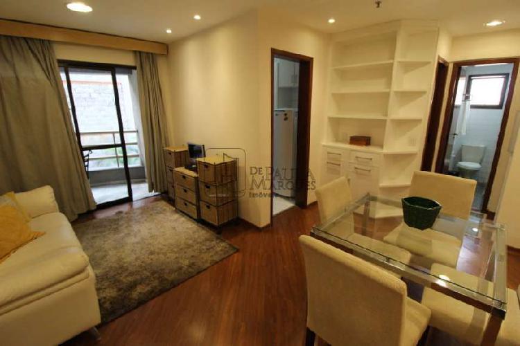 1 dormitório mobiliado para locação na bela vista!
