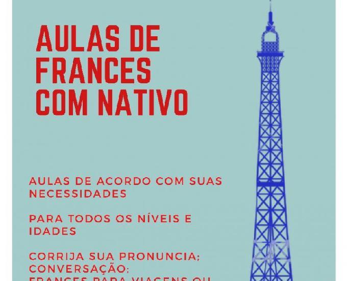 Aprende francês com professor nativo