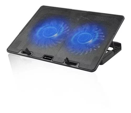 Base p/ notebook c3tech nbc-50bk 15,6 com 2 coolers led azu