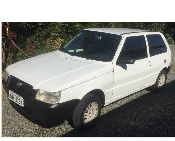 Fiat uno mille flex 2008 - branco
