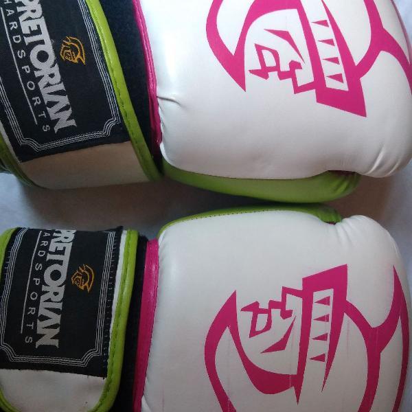 Luva de boxe/muay thai, feminina. 10 oz