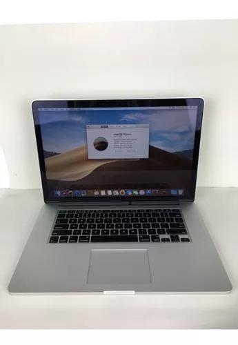 Macbook pro a1398 i7 2015 15 pol. 16gb hd 512gb - 5 ciclos