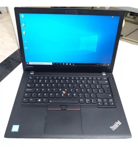 Notebook i5 6° geração lenovo thinkpad t470 novissimo 8gb