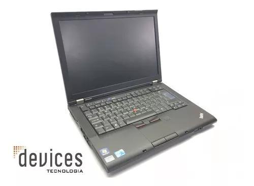 Notebook lenovo thinkpad t410 i5 520m 4gb hd 250gb - usado