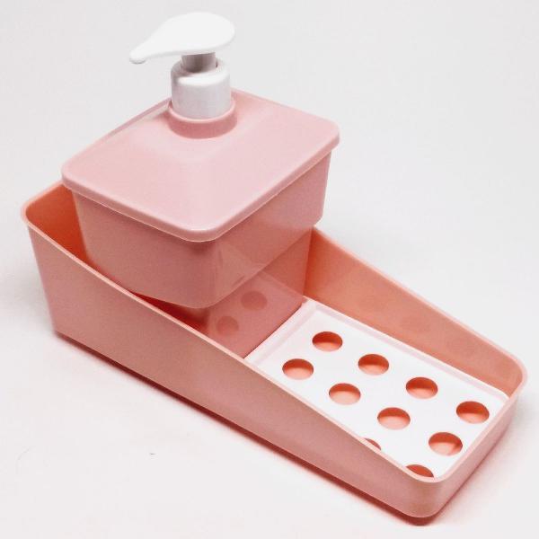 Plasútil kit porta detergente c válvula e suporte p