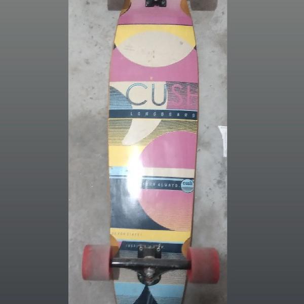 Skate longboard cush