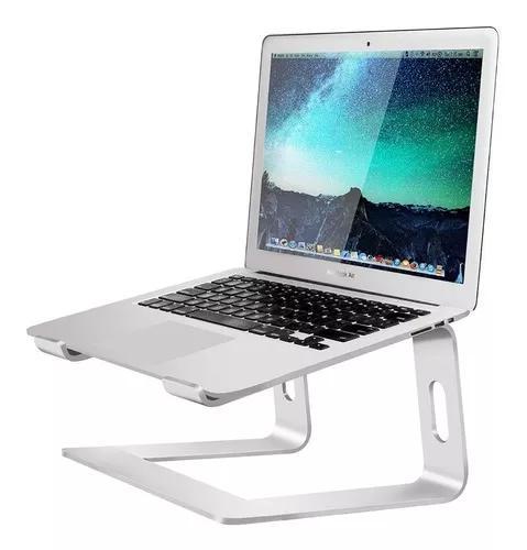Suporte de alumínio laptop stand prata notebook macbook pro