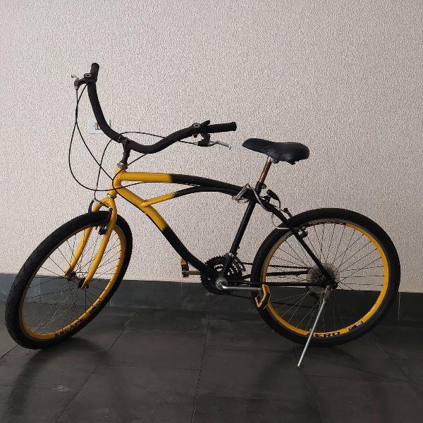 Bicicleta bike aro 26 com marcha