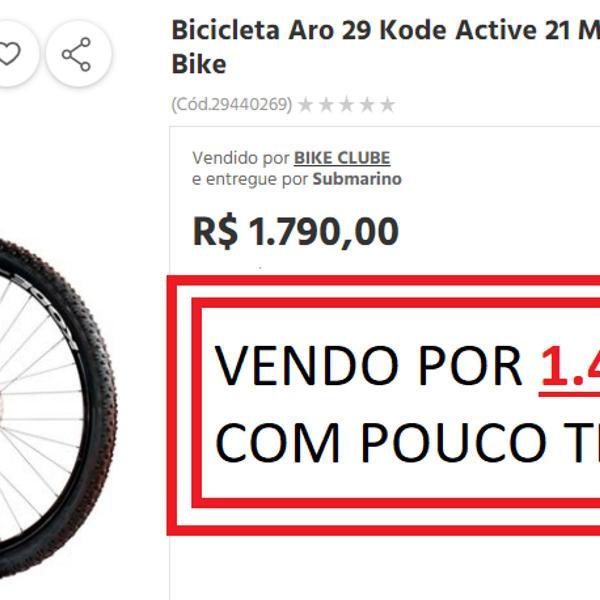 Bike/bicicleta kode active aro 29