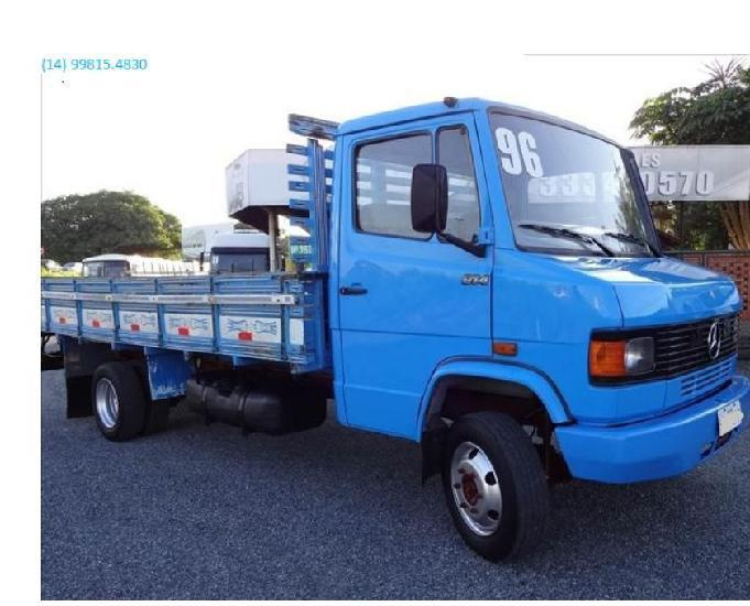 Caminhão mb 914 ano 1996 turbo diesel