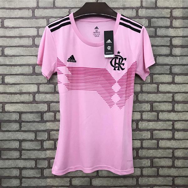Camisa flamengo feminina rosa 70 anos