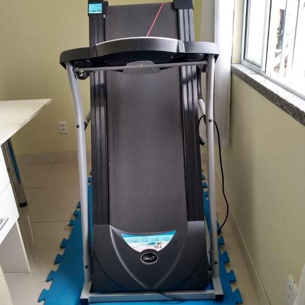 Esteira elétrica treo fitness