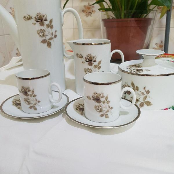 Jogos pra cafézinho, porcelana, jogo de café em