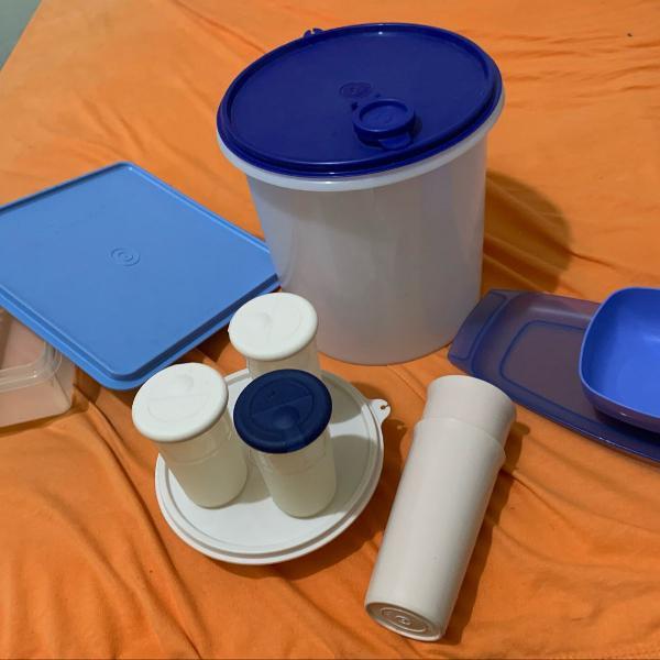 Queima de estoque tapawere kit com todas as vasilhas