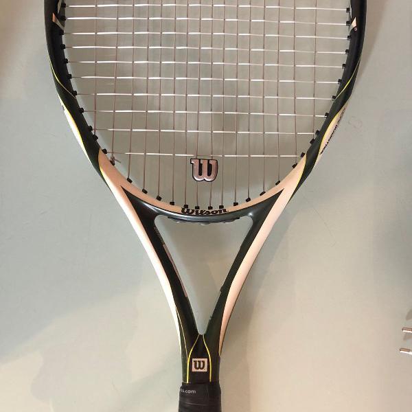 Raquete de tênis wilson k factor - k arophite black