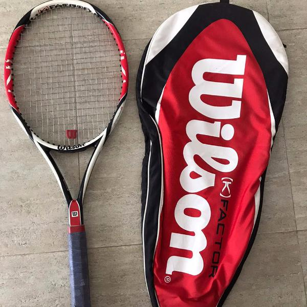 Raquete wilson k factor six one team (289g)