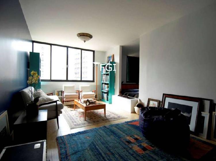 Apartamento mobiliado em cerqueira césar - 97m2 - 2 suítes